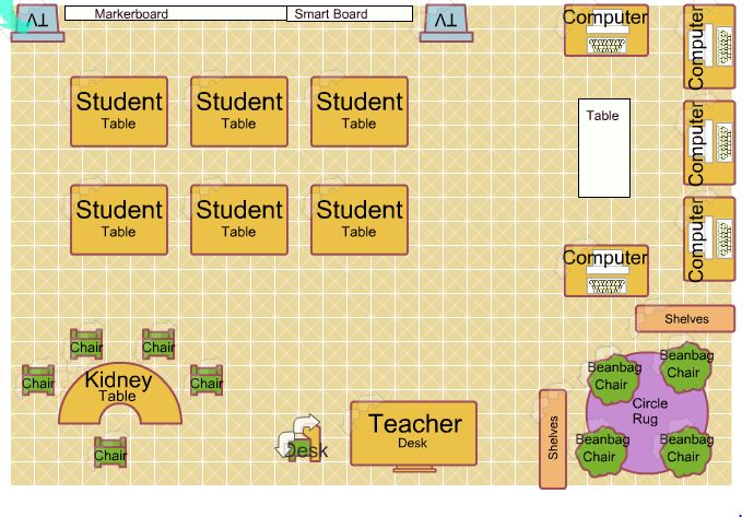 Classroom Design Guide ~ Classroom floor plan build it bigger unit